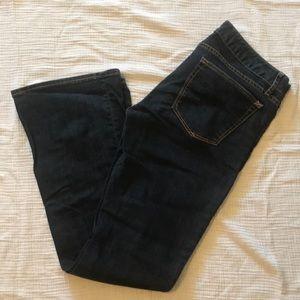 "Gap ""Curvy"" Jeans Bootcut Size 4 Ankle/27"